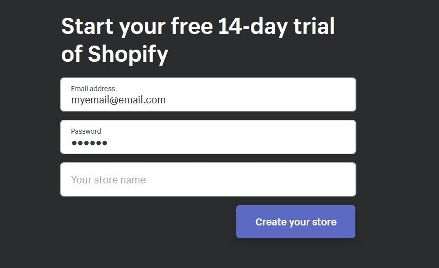 how to start Your Own Shopify store